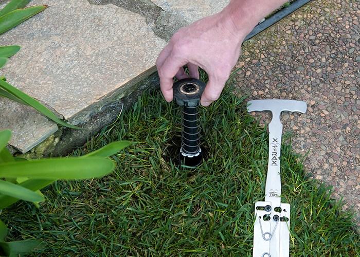 xTrax Step 1: Remove Sprinkler Cap